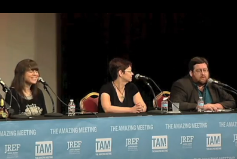 Me, Eve, and Bob on our TAM 2012 panel